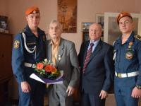 90 лет ветерану-фронтовику Валентину Васильевичу Трофимову
